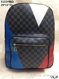 $enCountryForm.capitalKeyWord Australia - SALE ! Hot Leather High Quality New 2019 Brands men women's Backpack famous Backpack Design lady backpacks Bags Women Men back pack 513