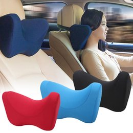 $enCountryForm.capitalKeyWord Australia - New Elastic Neck Support Car Sleep Pillow Cushion Memory Foam Car Seat Fatigue Reduce Neck Pillow Rest Soft Rest Travel