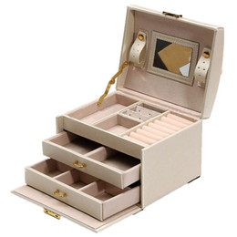 $enCountryForm.capitalKeyWord Australia - Large Jewellery Box Armoire Dressing Chest with Clasps Bracelet Ring Organiser