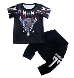 67799c70b8d 2019 Brand Kids Sets Children T-shirts And Shorts Pants Kids Tracksuits  Children Sport Suit 2 Pcs Sets Short Sleeve Sets summer OBCDA