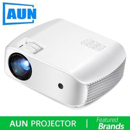 projector 3d Australia - AUN LED Projector F10, 1280x720p,2800 Lumens. HD Video Projector. MINI Projector for HomeTheater,3D Beamer. Support 1080P, HD-IN