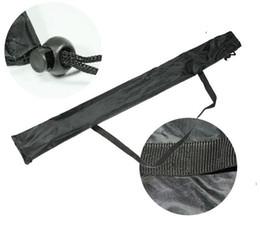 Großhandel Nylon Outdoor Trekkingstöcke Armaturen Tragbare Schwarze Tasche Anti Verschleiß Umweltfreundliche Stick Tasche Falten Heißer Verkauf 2 8clI1