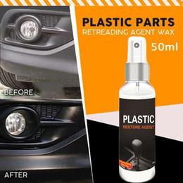 Wholesale 50ml Automotive Interior Auto & Plastic Renovated Coating Paste Maintenance Agent Plastic Restore Agent