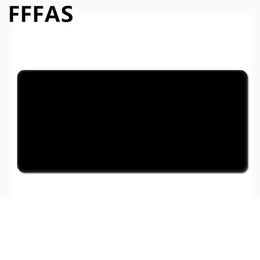 Padded table Protector online shopping - FFFAS Big Size All Black Mouse Pad Pure and Simple Whole Black Mousepad Gamer Gaming Table Mat Protector for Tablet PC Notebook