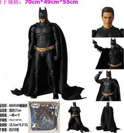 Discount batman dark knight figure - 17cm Justice League Batman The dark knight movie doll Anime Figure PVC Collection Model Toy Action figure for friends gi