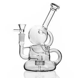 $enCountryForm.capitalKeyWord UK - 7.5 Inchs Small Bong Heady Glass Water Bongs Smoking Glass Pipes Unqiue Bong Thick Glass Bubbler Water Bongs With 14mm Bowl