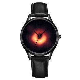 $enCountryForm.capitalKeyWord UK - 2019 new fashion men mens trend Black hole technology element leather watches wholesale male leisure business quartz wrist watch