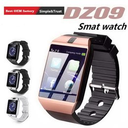 $enCountryForm.capitalKeyWord Australia - Bluetooth DZ09 Smartwatch Wrist Watches Touch Screen For iPhone Xs Samsung S8 Android Phone Sleeping Monitor Smart Watch With Retail Package