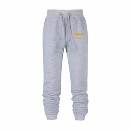 grey casual trousers UK - 2019 New Men Joggers Brand Male Trousers Casual Pants Sweatpants Jogger grey Casual Elastic cotton GYMS Fitness Workout pans
