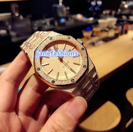 Wholesale best scrubs online – design World s best sell men s brand watches Rose gold scrub stainless steel watch high quality automatic mechanical business watch
