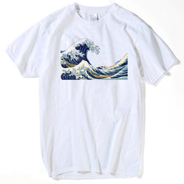 Great clothes online shopping - 2018 New Designer The Great Wave of English Bulldog T shirt For Man T Shirts Clothing men plus size s xxxl hip hop tee