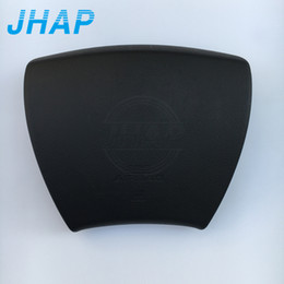 Car Wheels Logos UK - Free Shipping Car Steering Wheel Airbag Cover For Sienna 10 11 12 13 14 Airbag SRS Cover Driver (Emblem Logo Include)