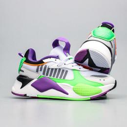 purma rsx Reinvenção dos homens do desenhista Shoes Cool Black branco Moda Creepers pai alta qualidade para os homens Mulheres Correndo Sneakers esportes instrutor em Promoção