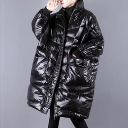 $enCountryForm.capitalKeyWord Australia - Plus Size Winter Jacket Women Down Coat For Female Parka Thick Warm Casual White Duck Down Jacket Women Long Coats Outwear