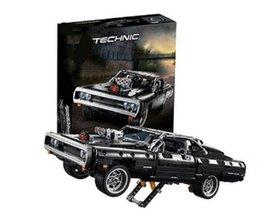 Wholesale 2020 New En stock Compatible 42111 Technic Dodged cargador Building Blocks Creator Expert Bricks Set niños modelos juguetes regalos