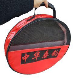 Gear Diameter Australia - Fishing Bag Fish Net Protection Storage Waterproof Round Tackle Bag Fishing Gear Diameter 49cm #717342