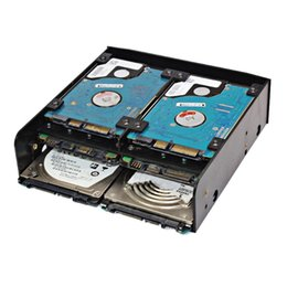 """Discount used hard disk - OImaster Multi-functional Combination of Multi-use Hard Drive Conversion Rack Standard 5.25 Inch Device for 2.5"""" 3."""