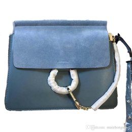 Toptan satış çanta tasarımcısı 2019 ABD tarzı hakiki deri çanta halka tarzı lüks chloa kadın çanta çanta çanta