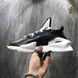 8509a1cb7 Top sale 2019 High Quality Y3 Kaiwa Yellow Chunky Yohji Shoes New Fashion  Men Core Black White Red Casual Sneakers Trainers Size 40-45