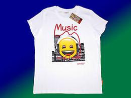$enCountryForm.capitalKeyWord Australia - White Emoji Childrens Shirt T Shirt with Design Size 116 164 New