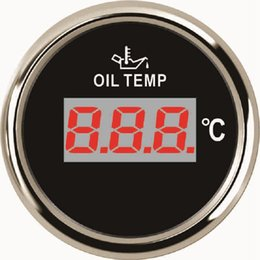 "Digital Temp Meter Australia - 2"" Marine Digital Oil Temp Temperature Gauge Meter 50-150 For Car Boat Yacht"