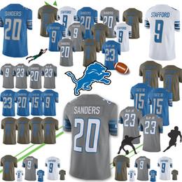 d66d4f46a93 Football detroit lions online shopping - Detroit Matthew Stafford Lion Barry  Sanders jersey Mens Golden Tate