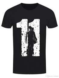$enCountryForm.capitalKeyWord Australia - 2018 Short Sleeve Cotton T Shirts Man Clothing Herren T-Shirt Team 11 Schwarz100% Cotton Print Mens Summer O-Neck