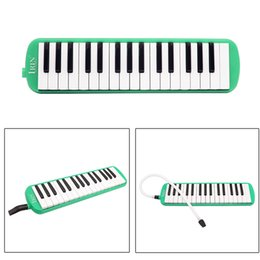 key melodica UK - Durable 32 Piano Keys Melodica with Carrying Bag Musical Instrument for Music Lovers Beginners Gift Exquisite Workmanship