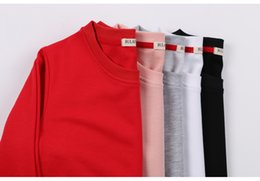 Springs Security Australia - YI lian spring and autumn new korean version loose and comfortable round-collar security clothes.