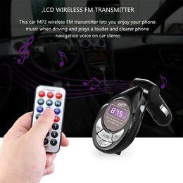 $enCountryForm.capitalKeyWord NZ - Car MP3 Player FM Transmitter LCD Wireless FM Transmitter Car Kit MP3 Player Support USB SD MMC Slot With Remote Control