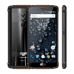 "HOMTOM ZOJI Z9 IP68 Waterproof Helio P23 Android 8.1 Octa core Smartphone 5.7"" 6GB 64GB 5500mAh Face ID Fingerprint 8MP+16MP CamMobile phone on Sale"