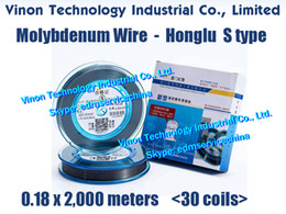 Wholesale reliable parts resale online - Spools mm meters EDM Molybdenum Wire S Type HONGLU brand vacuum packing good reliable quality for Wire Cutting application