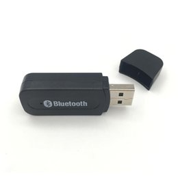 wireless bluetooth receiver for tv UK - 50pcs BT-163 USB Bluetooth Stick 3.5mm Music Receiver Wireless Audio Adapter Bluetooth Receiver Computer TV Car