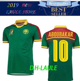 9176711fe Cameroon jersey online shopping - 2019 Cameroon Soccer Jersey Cameroon Home  Blue Eto o ABOUBAKAR Soccer