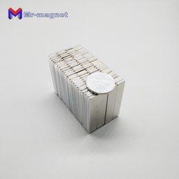 Super Blocks Australia - 2019 imanes Promotion 10pcs 50X 10x 1.5mm Super Strong Rare Earth Permanet Magnet Powerful Block Neodymium Magnets 50*10*1.5 50x10x1.5 iman