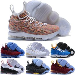 e638fbe3da20 20 Colors Available 2019 New Arrive What the Lebron 15 Lebron XV EP KS2A  Orange Legend BHM Equality Kids Basketball Shoes