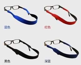 $enCountryForm.capitalKeyWord NZ - 1000pcs lot 6 colors Glasses Neoprene Neck Strap Retainer Cord Chain Lanyard String For Sunglasses Eyeglasses
