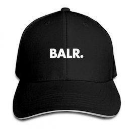 Toptan satış Beyzbol Şapkası Balr Tasarımcı baskı Mens Womens Kedi Kapaklar Hip Hop Beyzbol Kapaklar Ayarlanabilir Snapback Şapka Adam Femal Şapka Caps