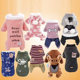 $enCountryForm.capitalKeyWord NZ - Pet Dog Clothes Winter Clothing Cotton Warm Clothes for Dogs Thickening Pet Product Dogs Coat Jacket