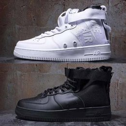 6f9b9db09 Special Field Airs Mid Forces SF 1 MID Sports Shoes Camo QS Military Boots  High-top Sneakers White Black Green Wheat sport shoes