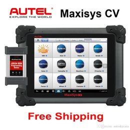 Truck heavy online shopping - Autel Maxisys CV Heavy Duty Diagnostic Automotive Truck Scan Tool full System Wifi with J ECU Coding Programming