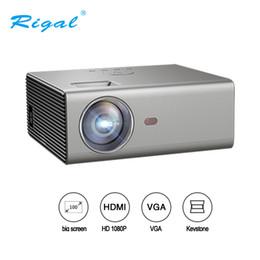 $enCountryForm.capitalKeyWord Australia - Rigal RD-825 LED Projector 2000 lumen 3.5mm Audio 1280*720 Pixels HDMI USB Mini Projector Home Media Player