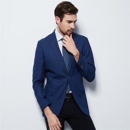 Bussiness jacket online shopping - Blazer Masculino Mens Suits Jacket Pants Fashion Slim Fit Formal Bussiness Blazer Masculino Single Button Coat Wedding