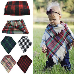 Baby Shawl Wholesale Australia - Focusnorm New Infant Baby Girl Cape Winter Clothes Toddler Jackets Kids Cape Xmas Coat Shawl