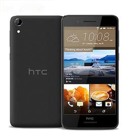 Rom Camera Australia - Original Unlocked HTC Desire 728 D728w 4G LTE Mobile Phones 2GB RAM 16GB 32GB ROM 5.5inch MTK MT6753 Octa Core 13MP+5MP Cameras