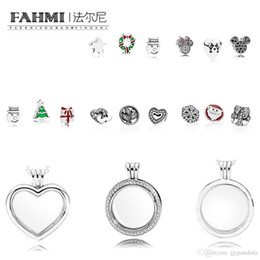 $enCountryForm.capitalKeyWord NZ - FAHMI 100% 925 Sterling Silver Charm Magic box ring necklace beads christmas Exquisite Temperament Fashion Ladies Jewelry