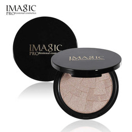 Discount waterproof illuminator - DROP SHIP Imagic Professional Illuminator Highlighter Palette pressed Face Powder 4 Color Highlight Contour Shadow Makeu