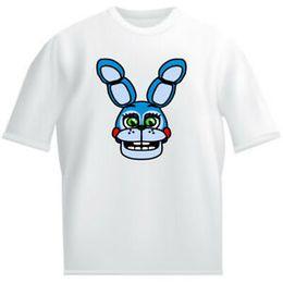 $enCountryForm.capitalKeyWord Australia - Five Night at Short-SShort-Sleeveves Bonnie Kids White T shirt childrens Game horror FNAF