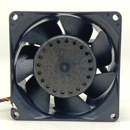 $enCountryForm.capitalKeyWord Australia - Delta 8cm 8038 12V high volume PWM temperature control fan PFR0812XHE computer chassis server fan