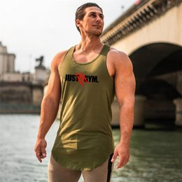 $enCountryForm.capitalKeyWord NZ - High Quality Sport Running Vest Men Fitness Tanktop Gym sleeveless T Shirt Workout Training Tank Top Men Bodybuilding Clothing